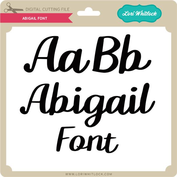 Abigail Font 2