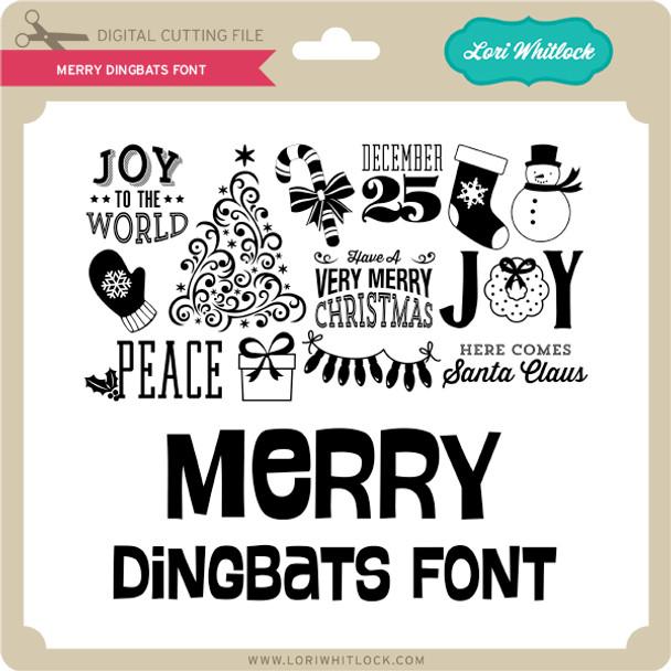 Merry Dingbats Font