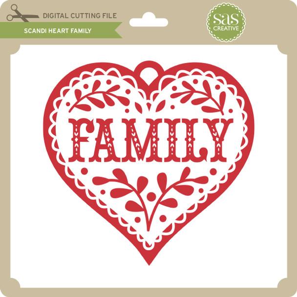 Scandi Heart Family