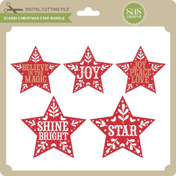Scandi Christmas Star Bundle