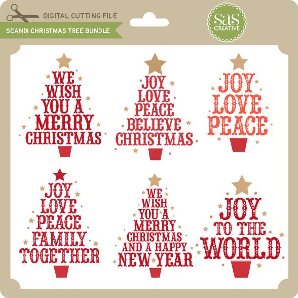 Scandi Christmas Tree Bundle