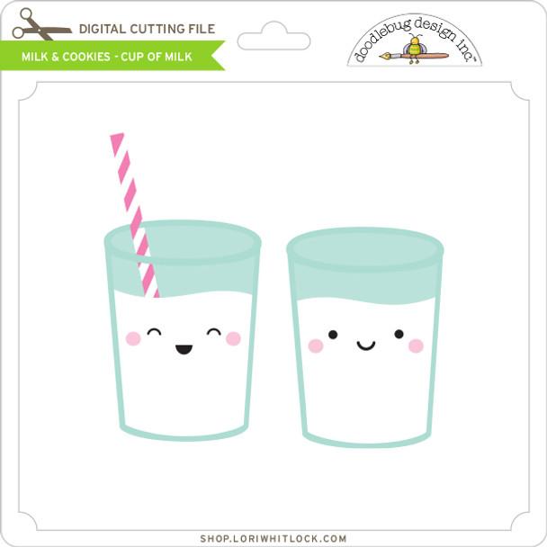 Milk & Cookies - Cup of Milk