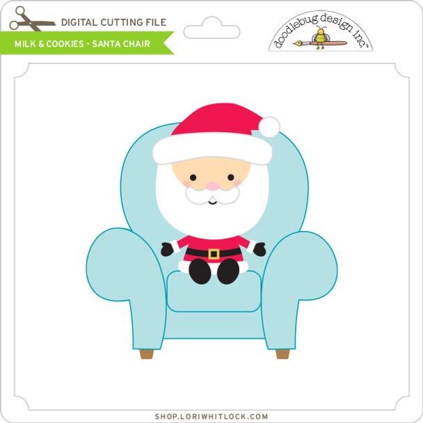 Milk & Cookies - Santa Chair