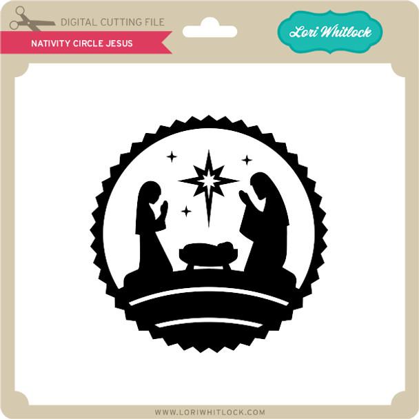 Nativity Circle Jesus