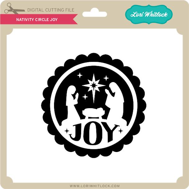Nativity Circle Joy