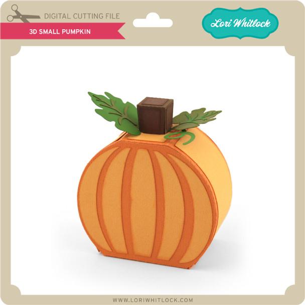 3D Small Pumpkin