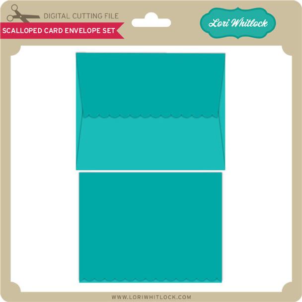 Scalloped Card Envelope Set