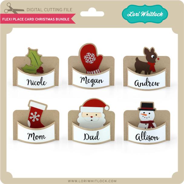 Flexi Place Card Christmas Bundle