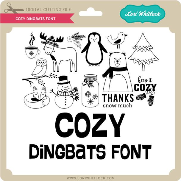 Cozy Dingbats Font