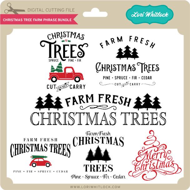 Christmas Tree Farm Phrase Bundle
