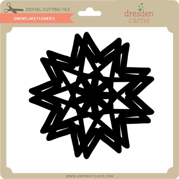 Snowflake Flower 3