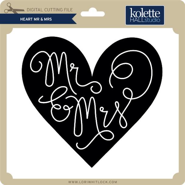 Heart Mr & Mrs