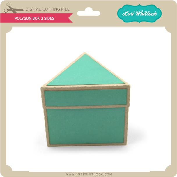 Polygon Box 3 Sides