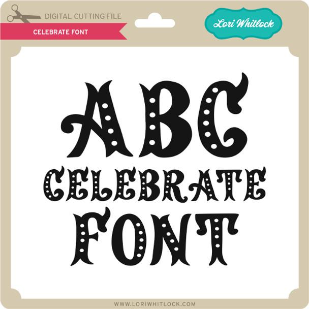 Celebrate Font