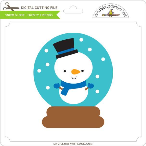 Snow Globe - Frosty Friends