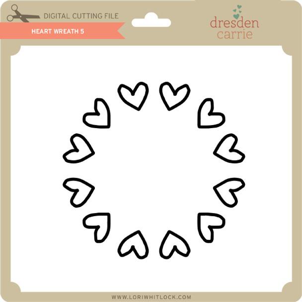 Heart Wreath 5