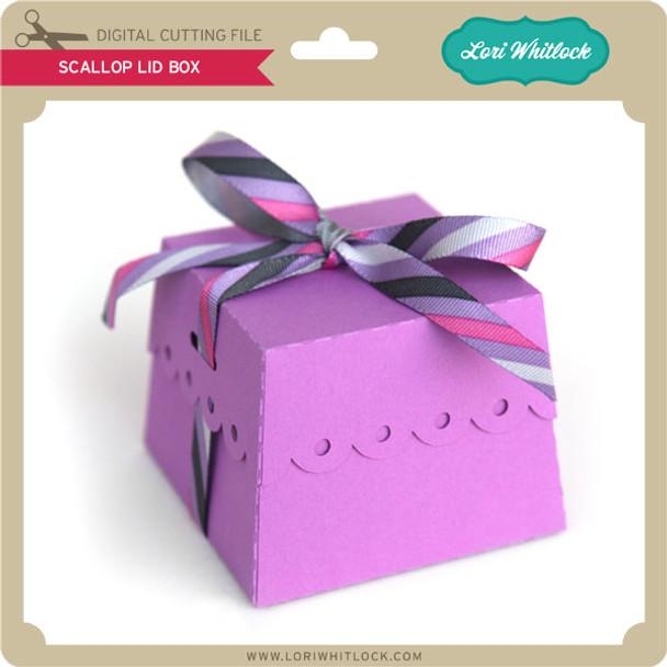 Scalloped Lid Box