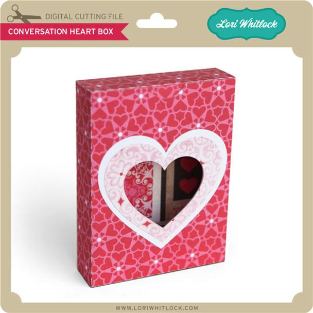 Conversation Heart Box