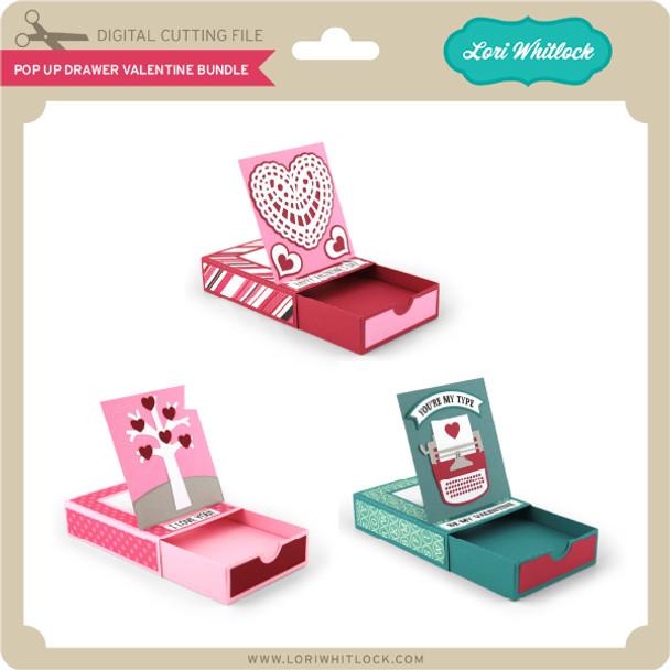 Pop Up Drawer Valentine Bundle