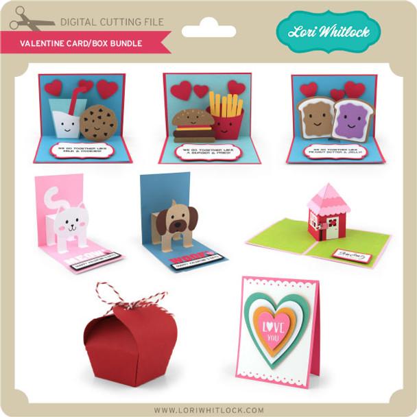 Valentine Card/Box Bundle