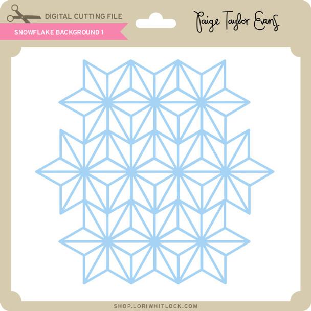 Snowflake Background 1