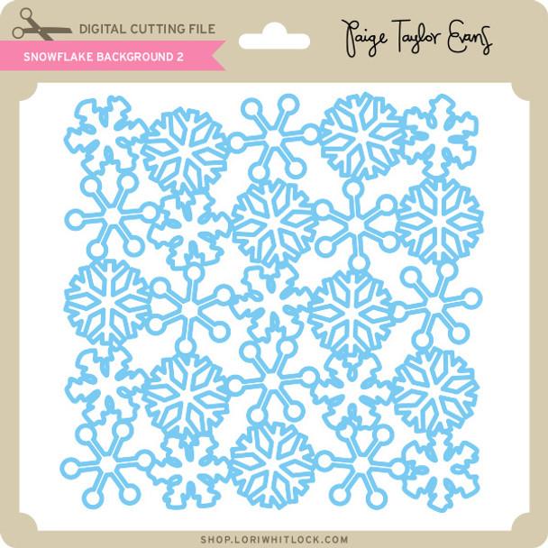 Snowflake Background 2