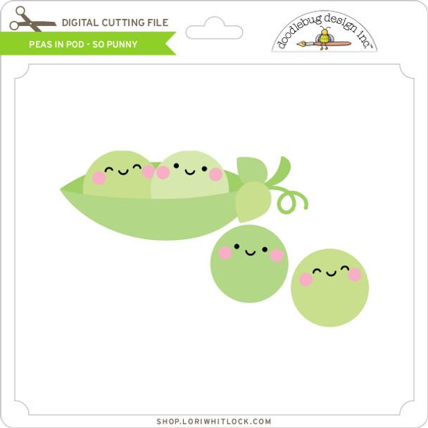 Peas In Pod - So Punny
