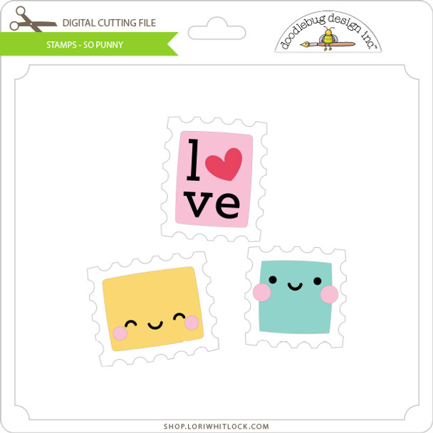 Stamps - So Punny