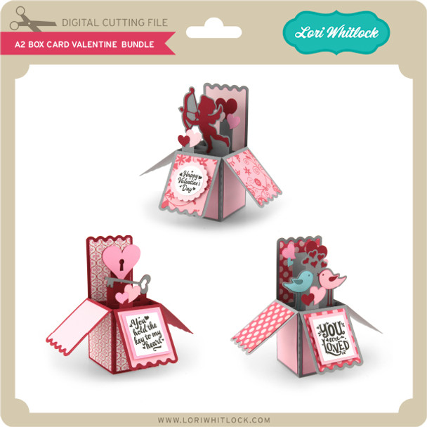 A2 Box Card Valentine Bundle