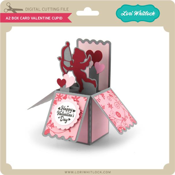 A2 Box Card Valentine Cupid