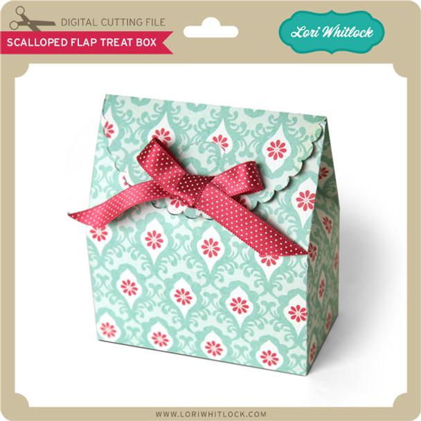 Scalloped Flap Treat Box