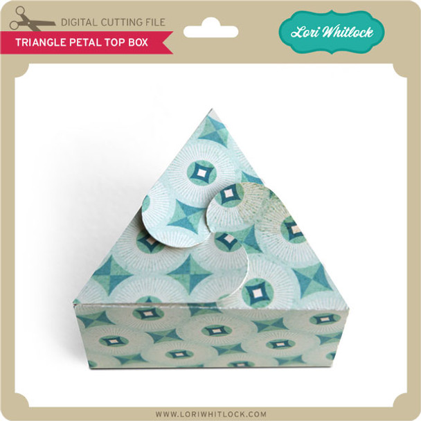 Triangle Petal Top Box