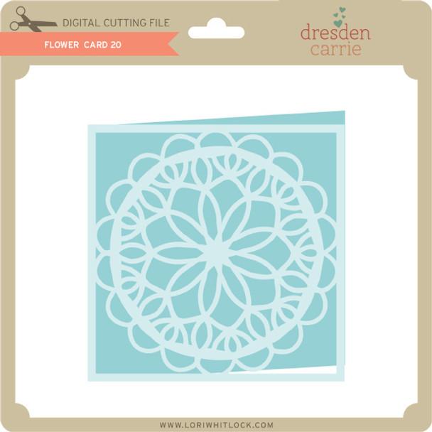 Flower Card 20