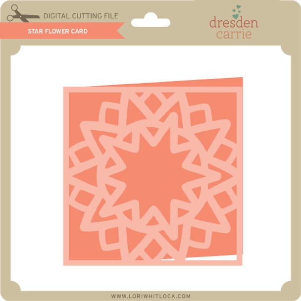 Star Flower Card