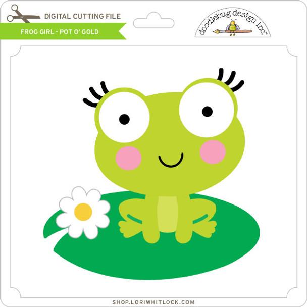 Frog Girl - Pot O' Gold