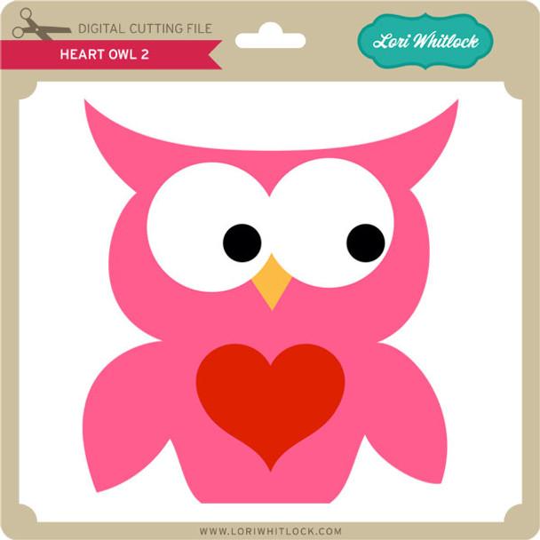 Heart Owl 2
