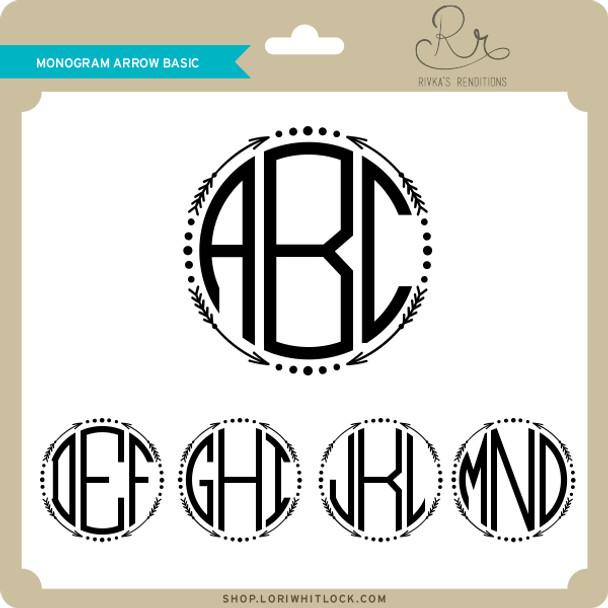 Monogram Arrow Basic