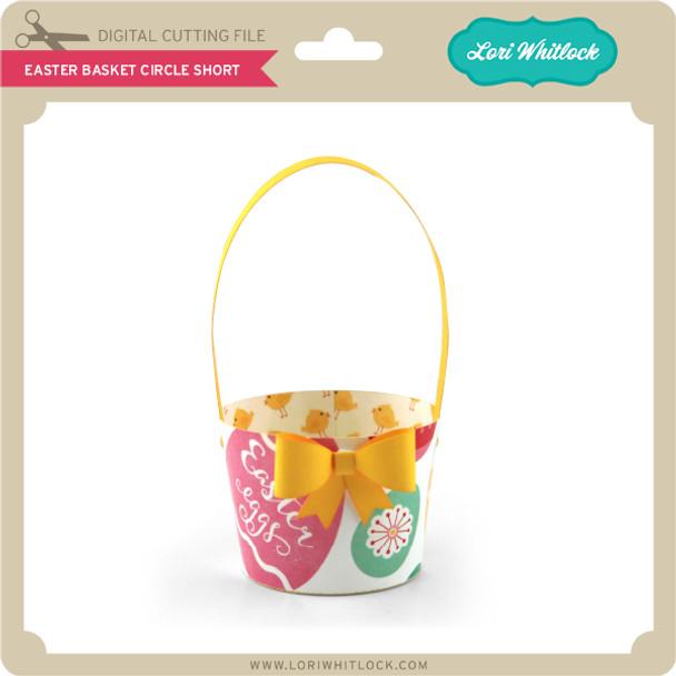 Easter Basket Circle Short