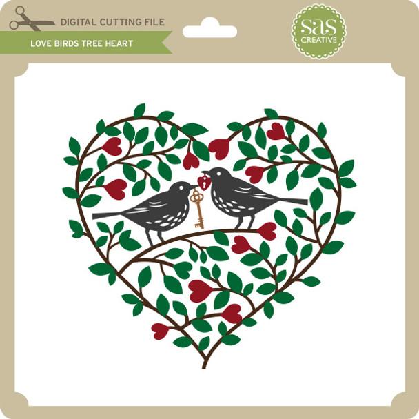 Love Birds Tree Heart