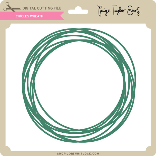 Circles Wreath
