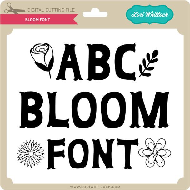 Bloom Font