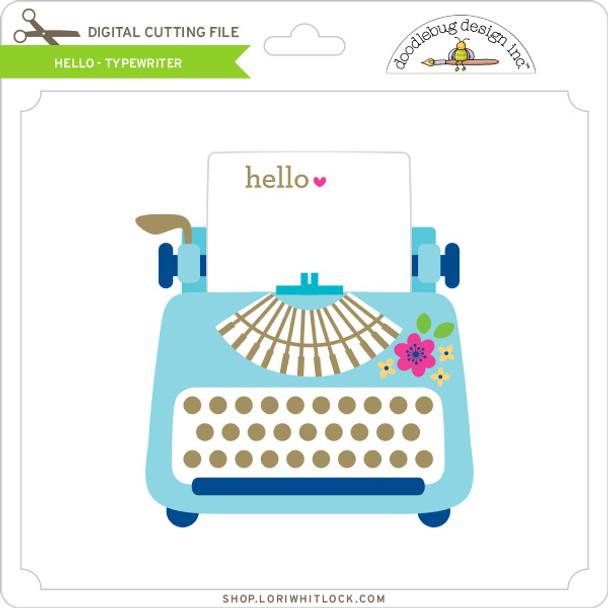 Hello - Typewriter