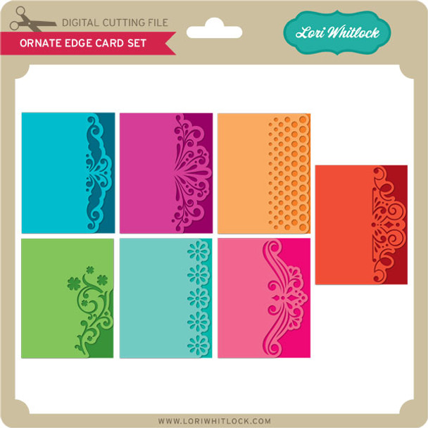 Ornate Edge Card Set
