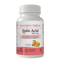Folic Acid 800mcg by Nature's Trove