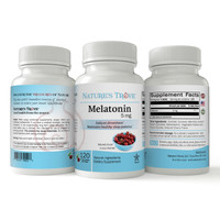 Melatonin 5mg EZ-Chew Tablets by Nature's Trove