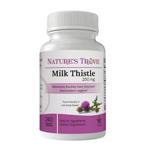 Milk Thistle 250 mg by Nature's Trove