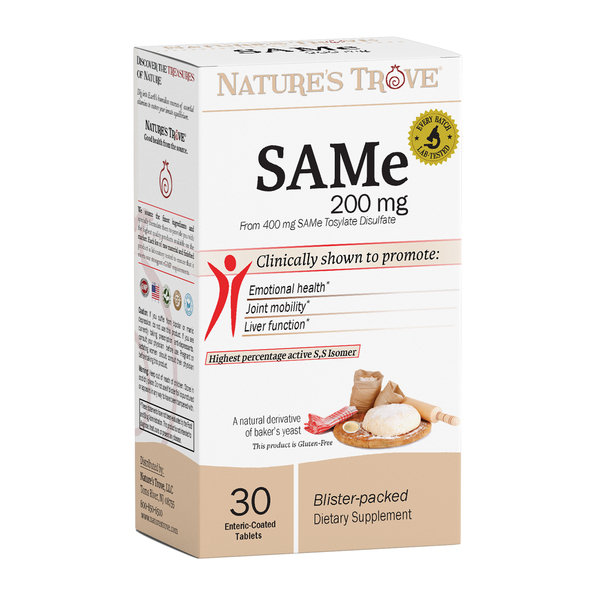 SAMe (S-Adenosyl-Methionine) 200mg