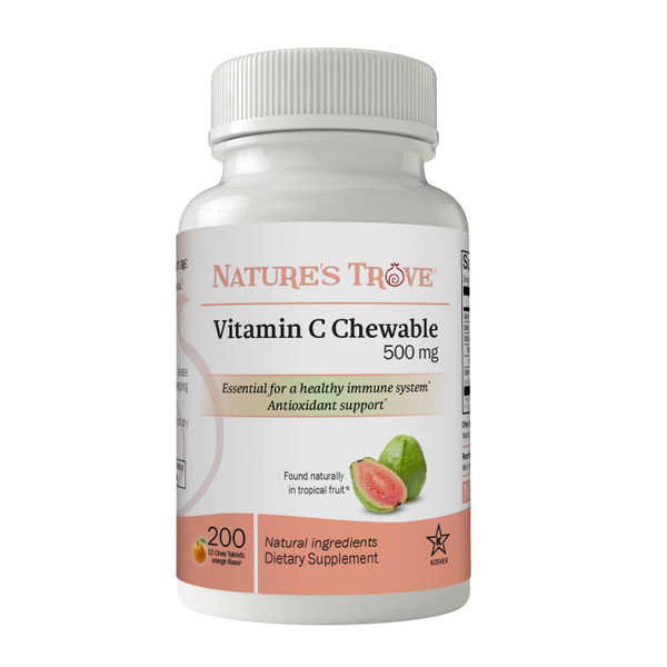 Vitamin C 500mg Chewable by Nature's Trove