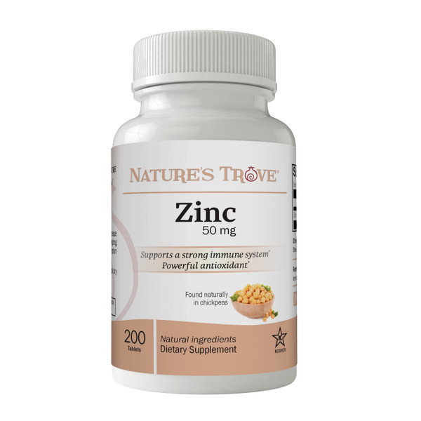 Zinc 50mg by Nature's Trove