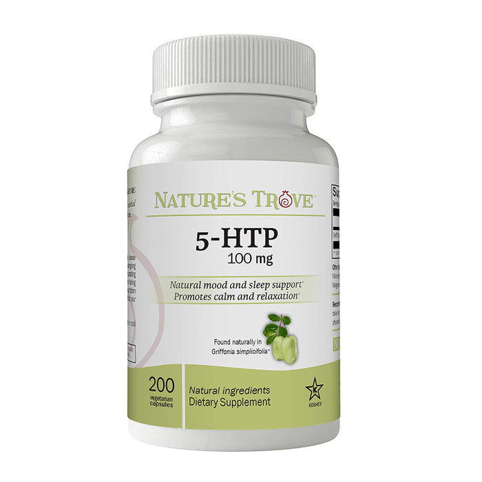 5-HTP 100mg Vegetarian Capsules by Nature's Trove